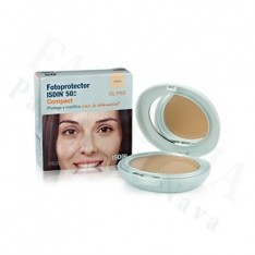 FOTOPROTECTOR ISDIN COMPACT SPF-50+ MAQUILLAJE COMPACTO OIL-FREE ARENA 10 G